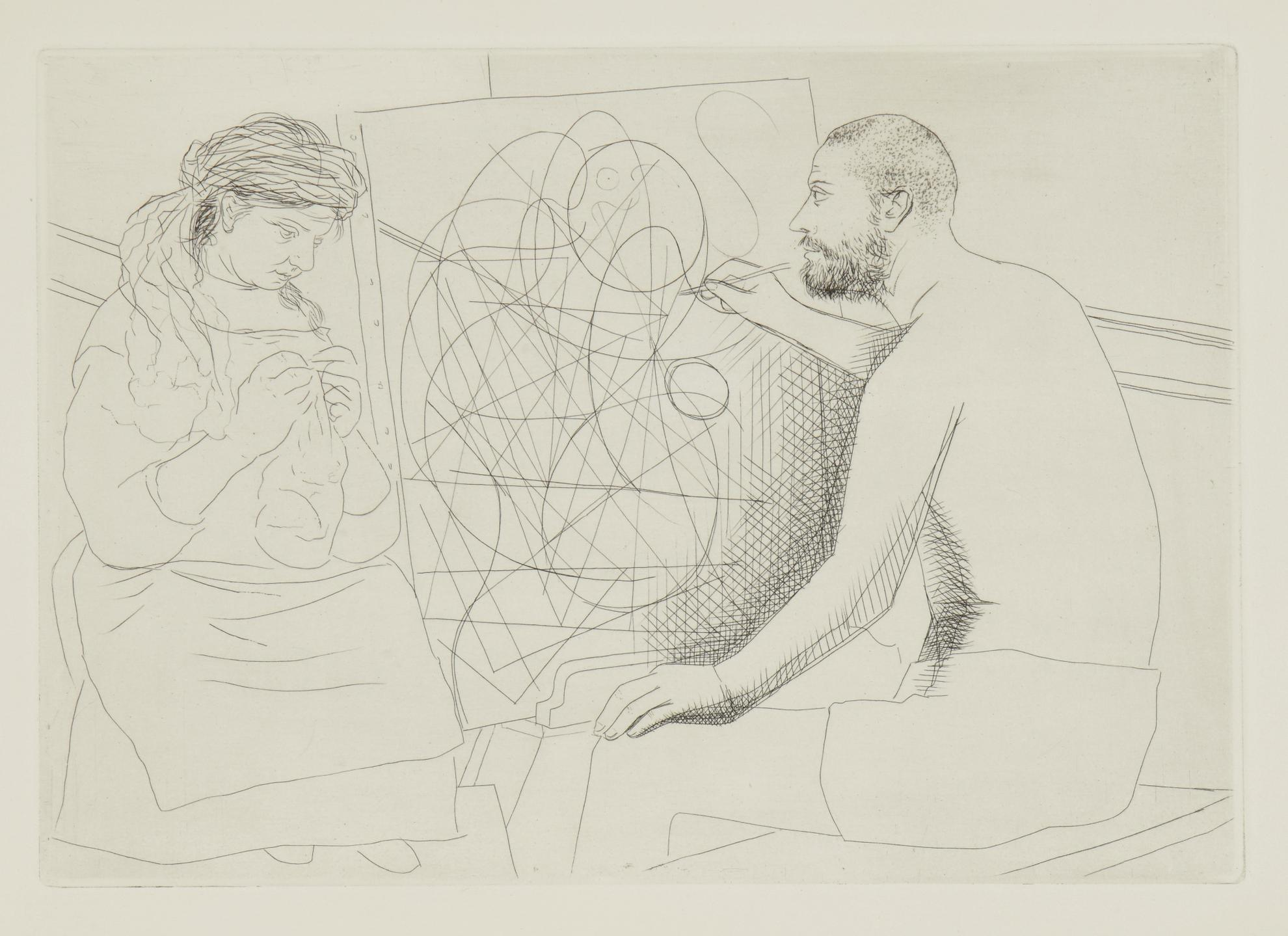 Pablo Picasso-Le Chef-Doeuvre Inconnu (B. 82-94; Ba. 123-45)-1931