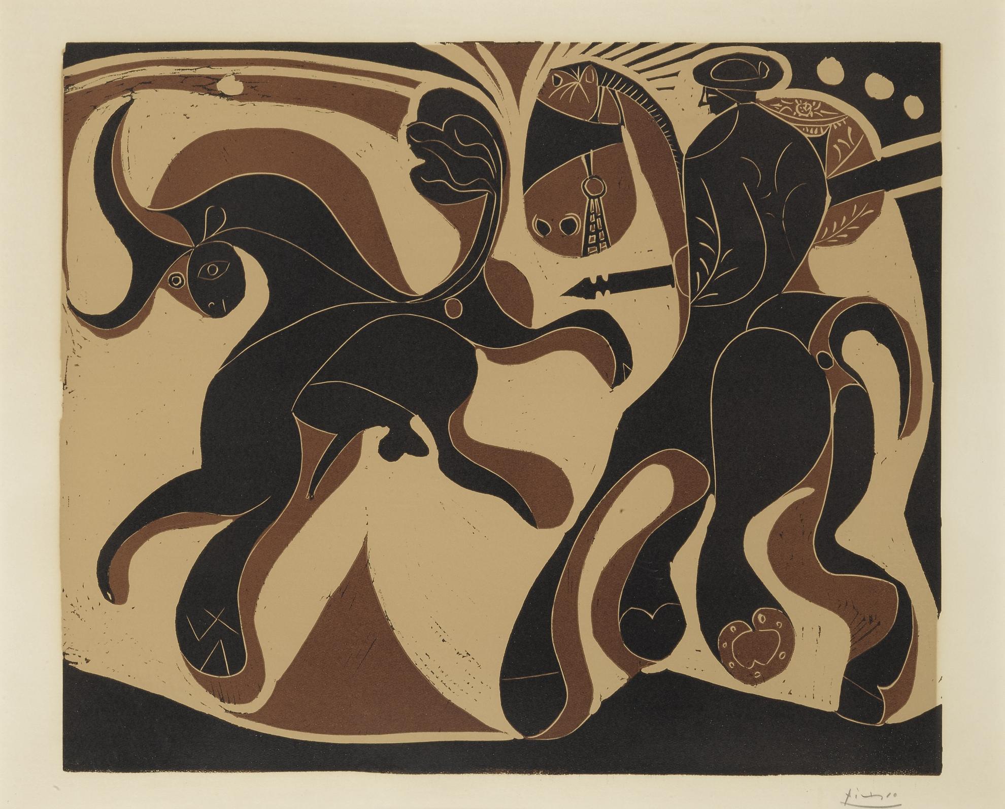 Pablo Picasso-Apres La Pique (B. 910; Ba. 1230)-1959