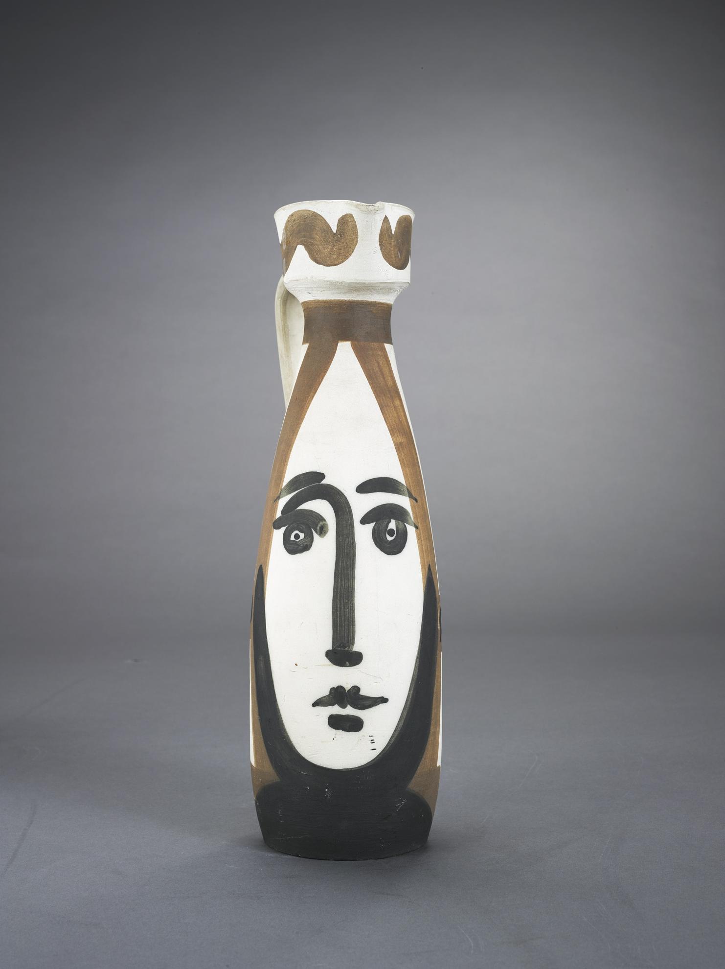 Pablo Picasso-Visage (A.R. 288)-1955