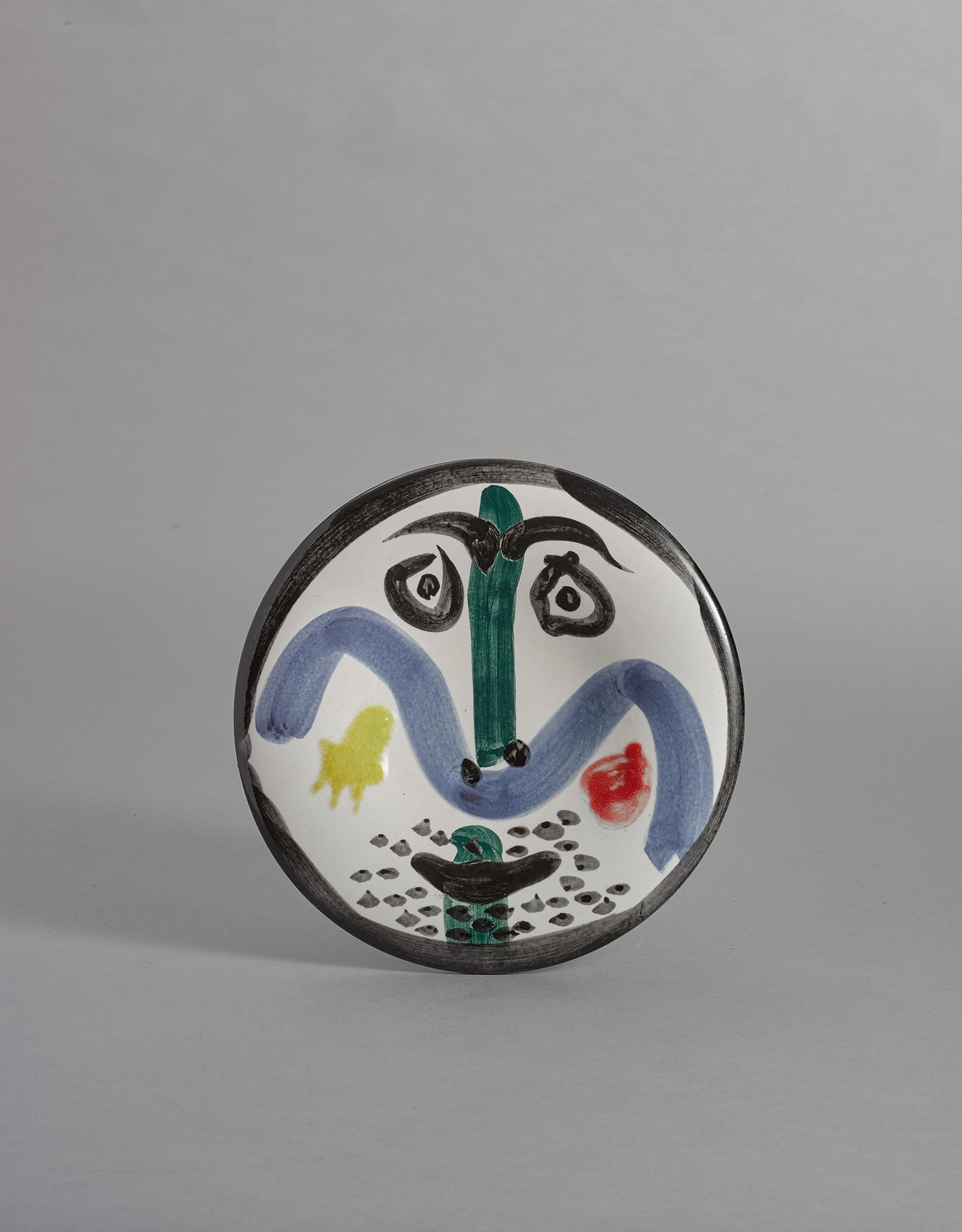 Pablo Picasso-Visage No. 130 (A.R. 479)-1963