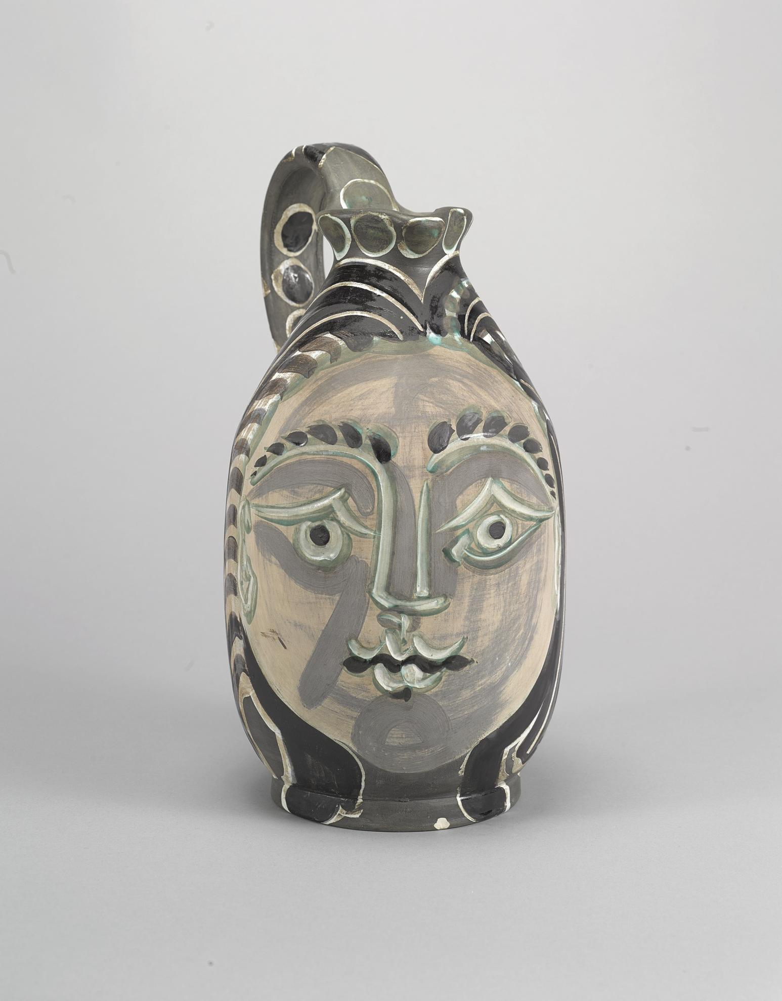 Pablo Picasso-Femme Du Barbu (A.R. 193)-1953