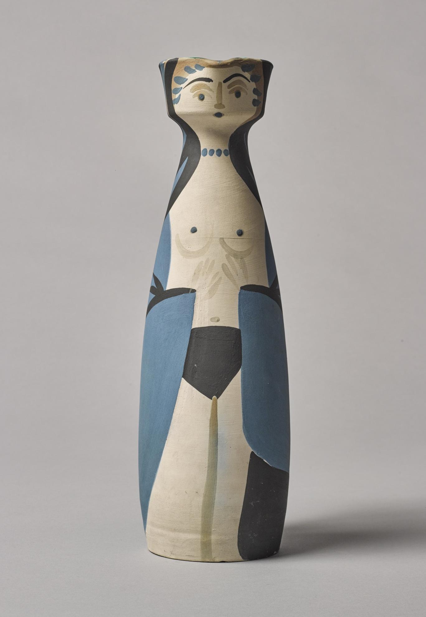 Pablo Picasso-Femme (A.R. 297)-1955