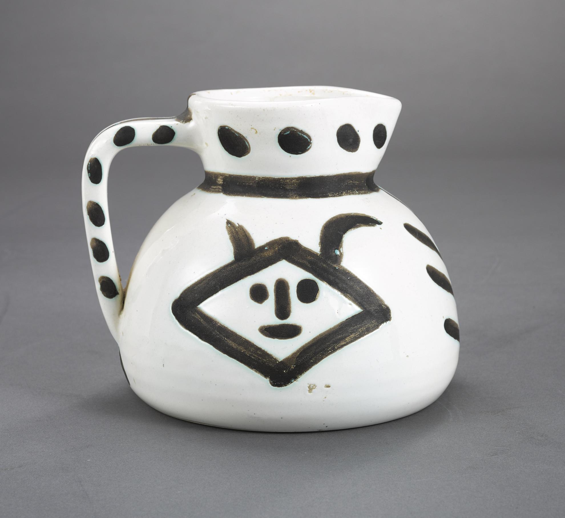 Pablo Picasso-Pichet Tetes (A.R. 221)-1952