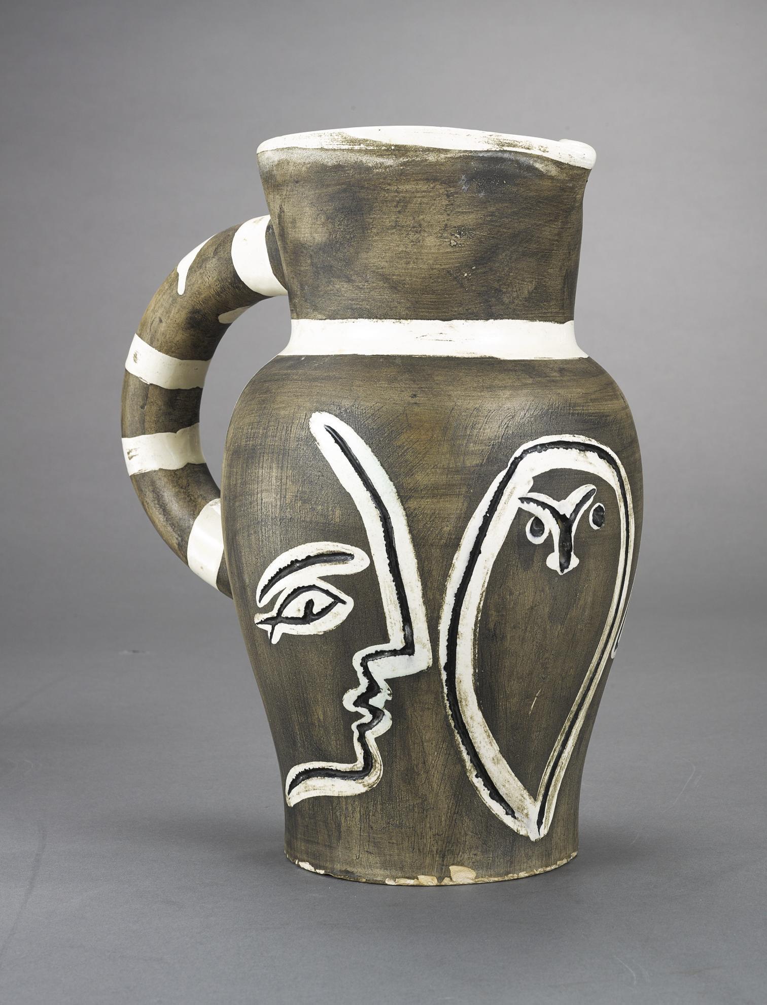 Pablo Picasso-Pichet Grave Gris (A.R. 246)-1954