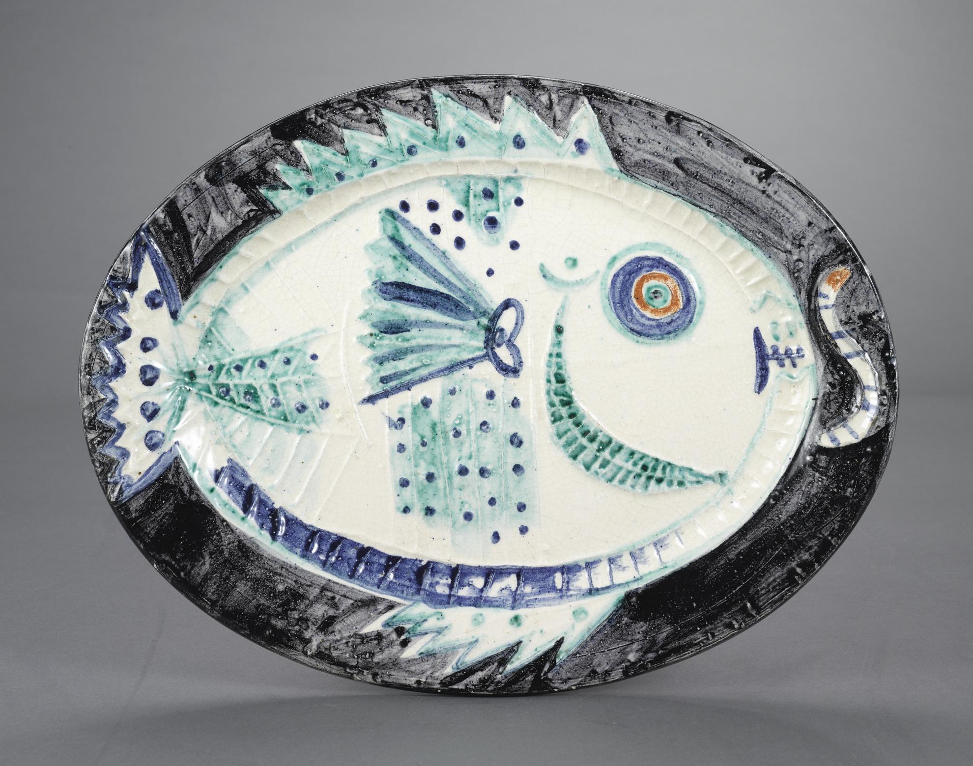 Pablo Picasso-Poisson De Profil (A.R. 132)-1951