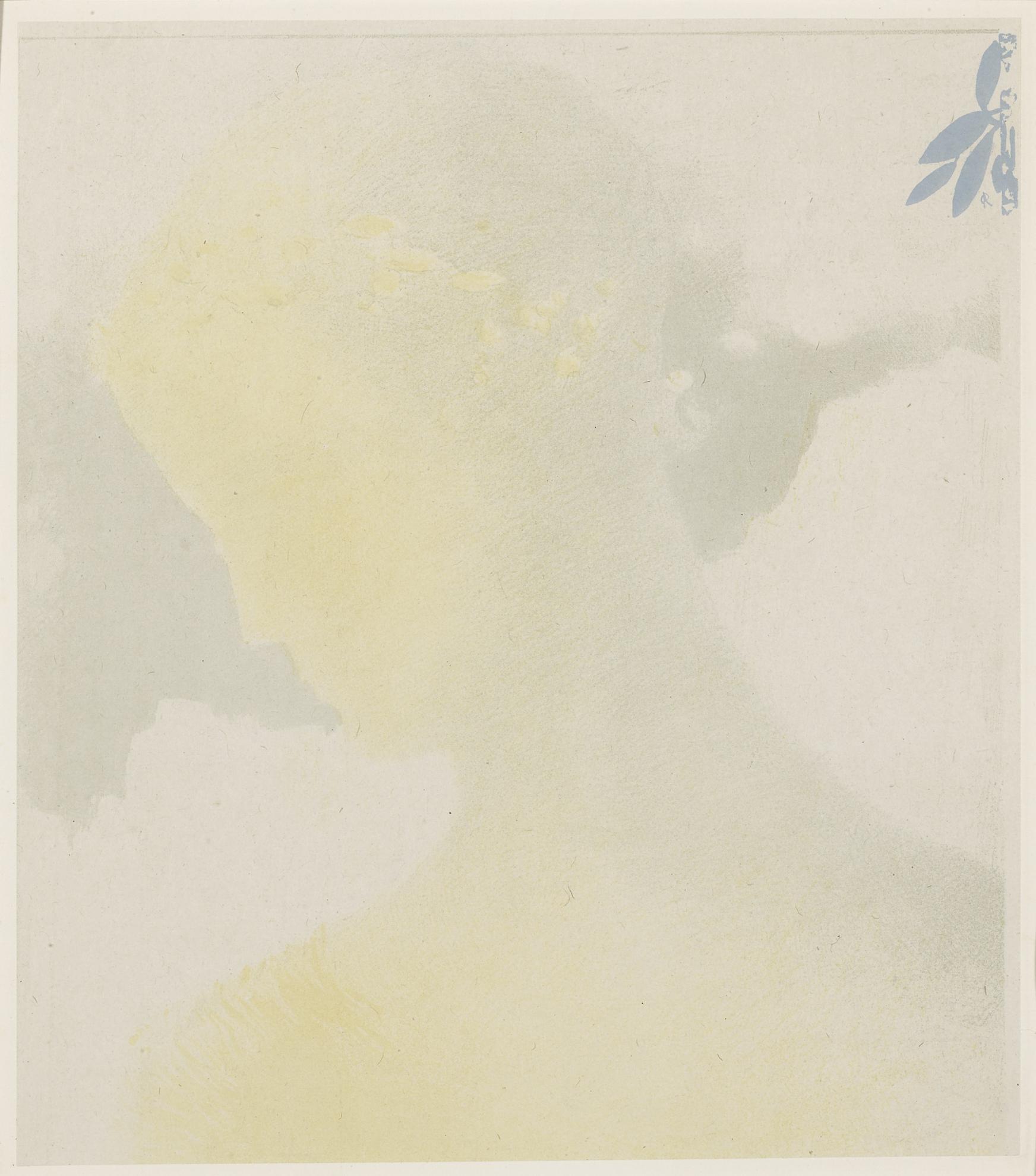Odilon Redon-Beatrice (Mellerio 168)-1897