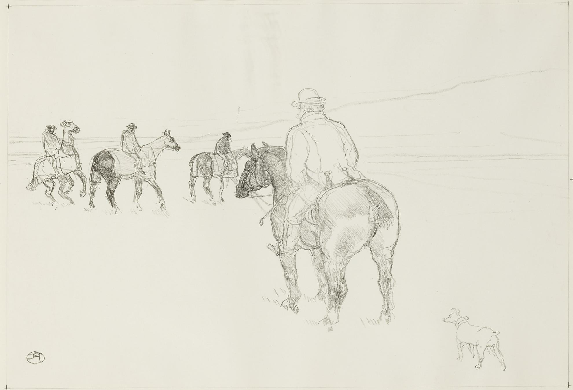 Henri de Toulouse-Lautrec-Lentraineur (D. 172; Adr. 287; W. 313)-1899