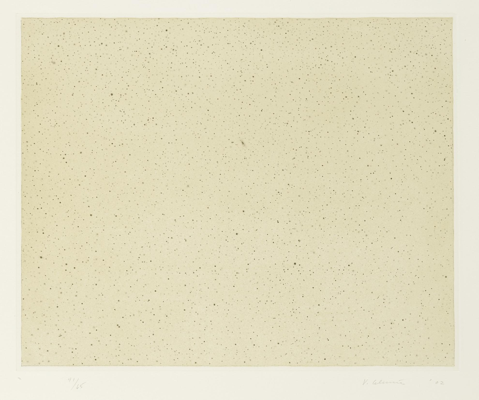Vija Celmins-Night Sky 2 (Reversed) (G. 9.15)-2002