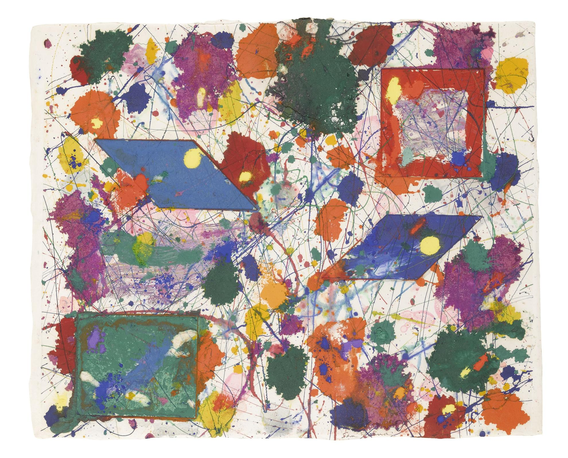 Sam Francis-Untitled (Sfm 81-015)-1981