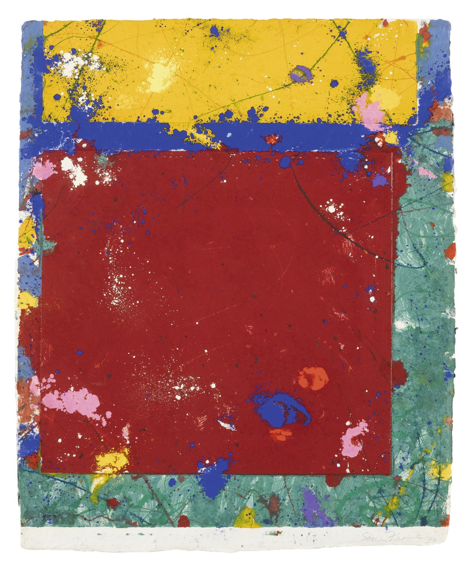 Sam Francis-Untitled (Sfm 81-021)-1981