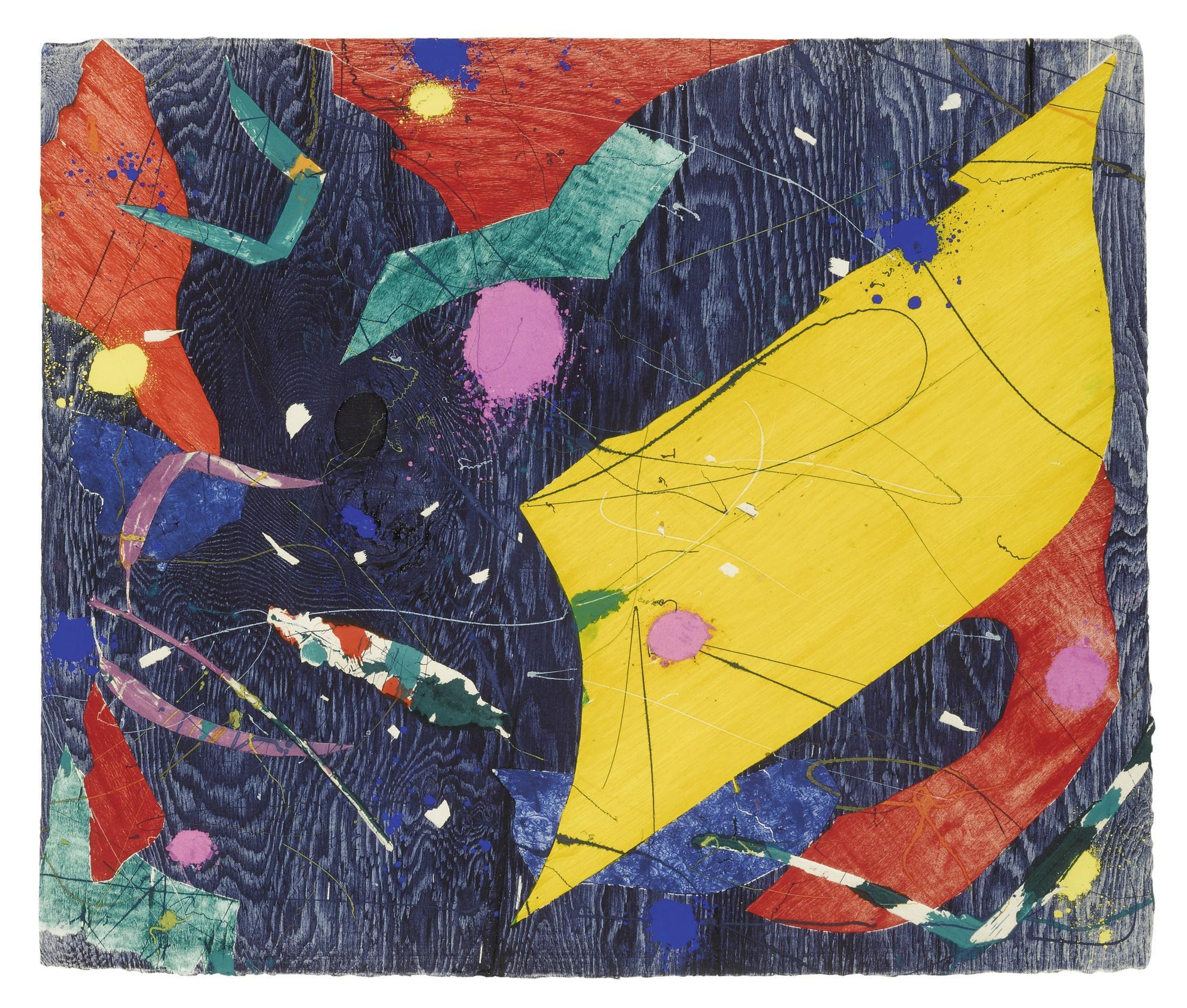 Sam Francis-Untitled (Sfm 84-523)-1984