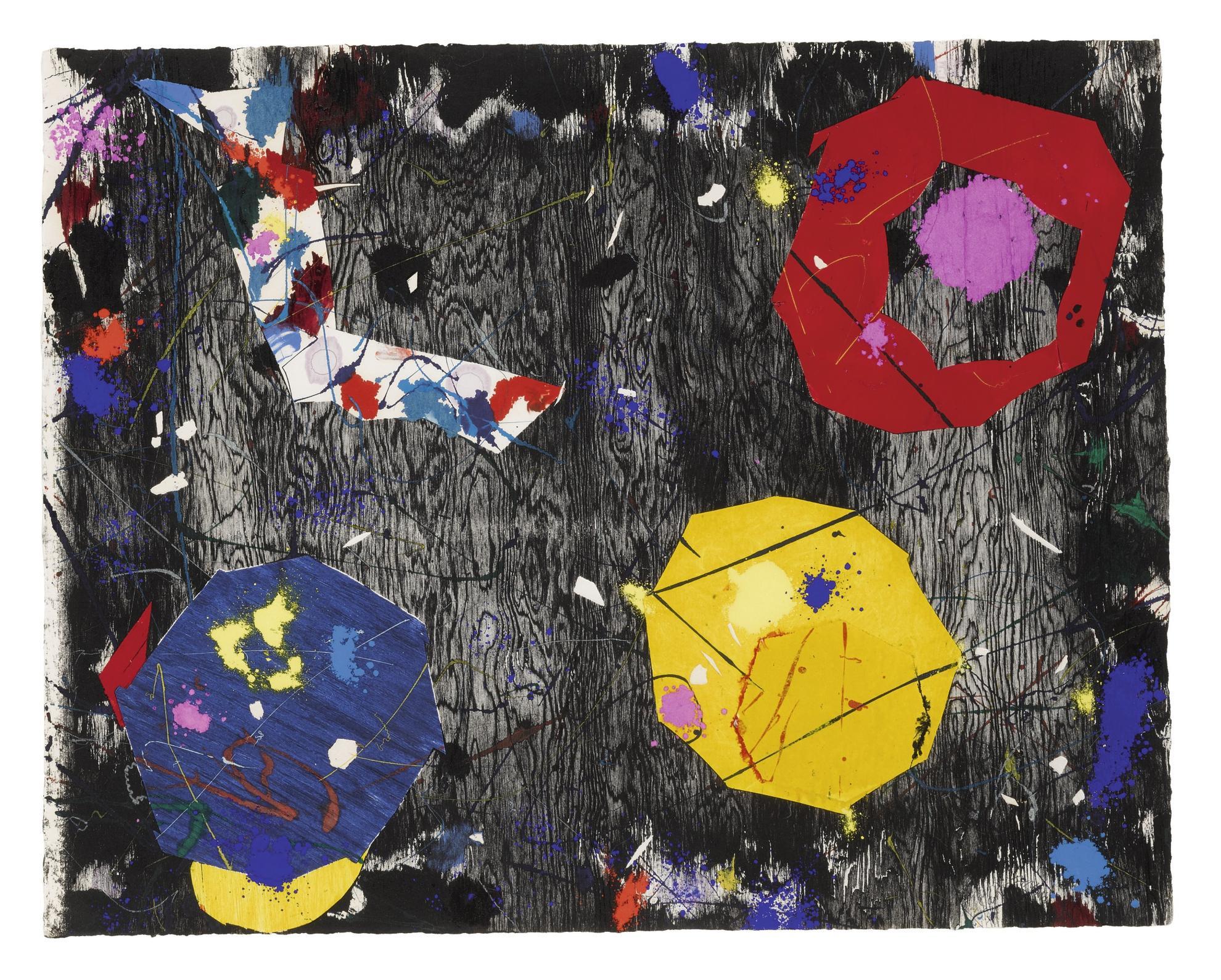 Sam Francis-Untitled (Exp-Sf-71-04)-1984