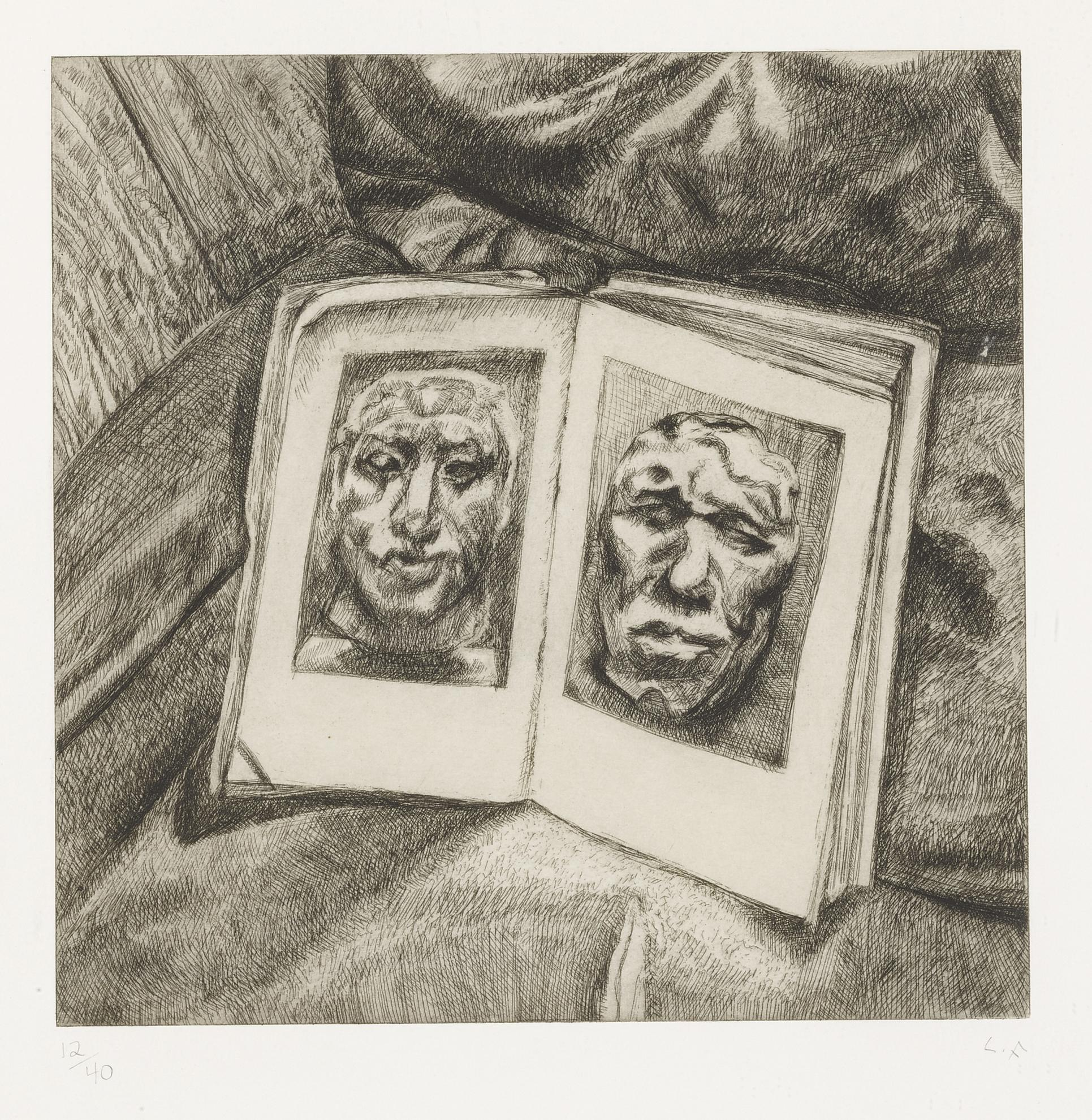 Lucian Freud-The Egyptian Book (H. 49)-1994
