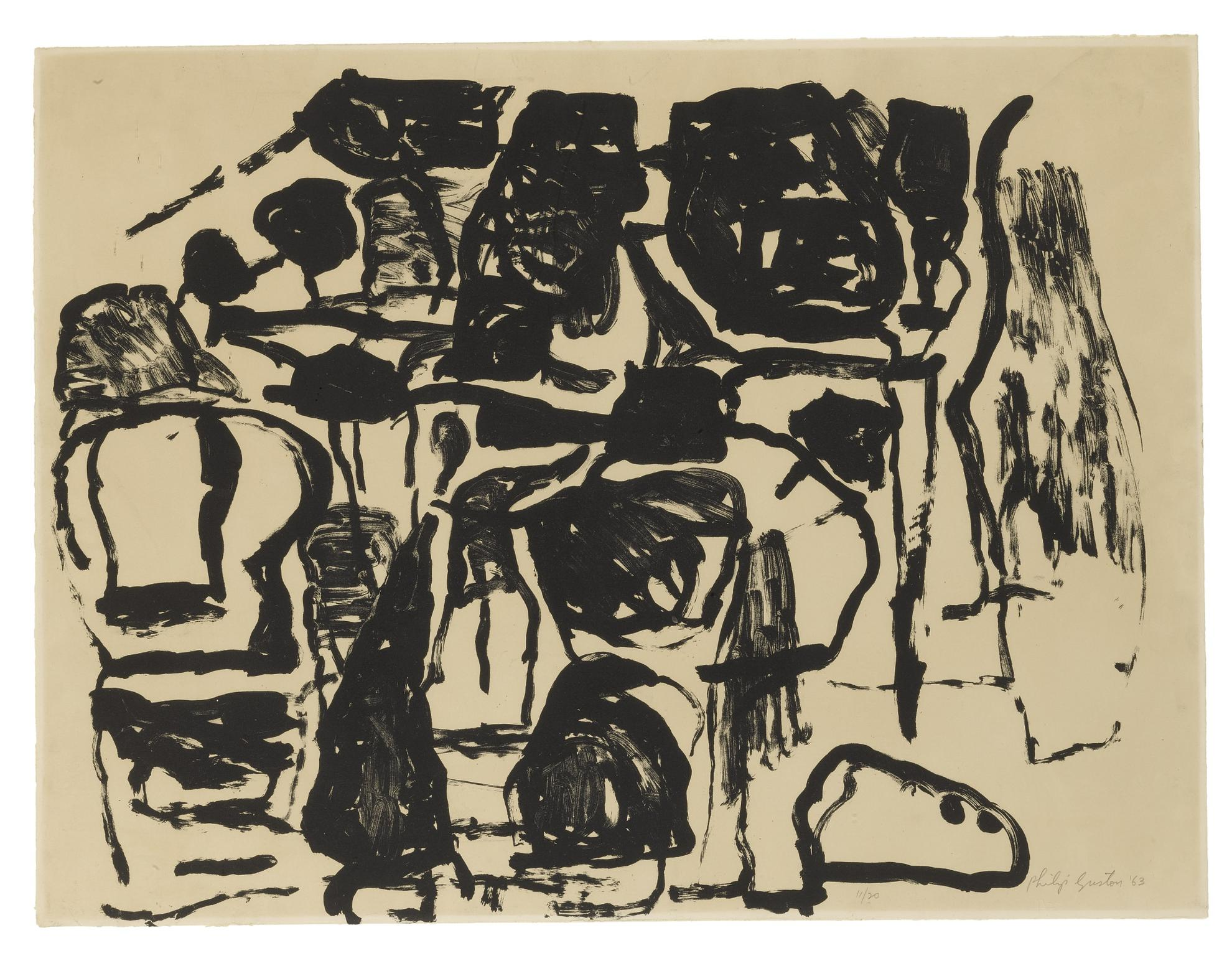Philip Guston-Untitled: Two Prints-1966