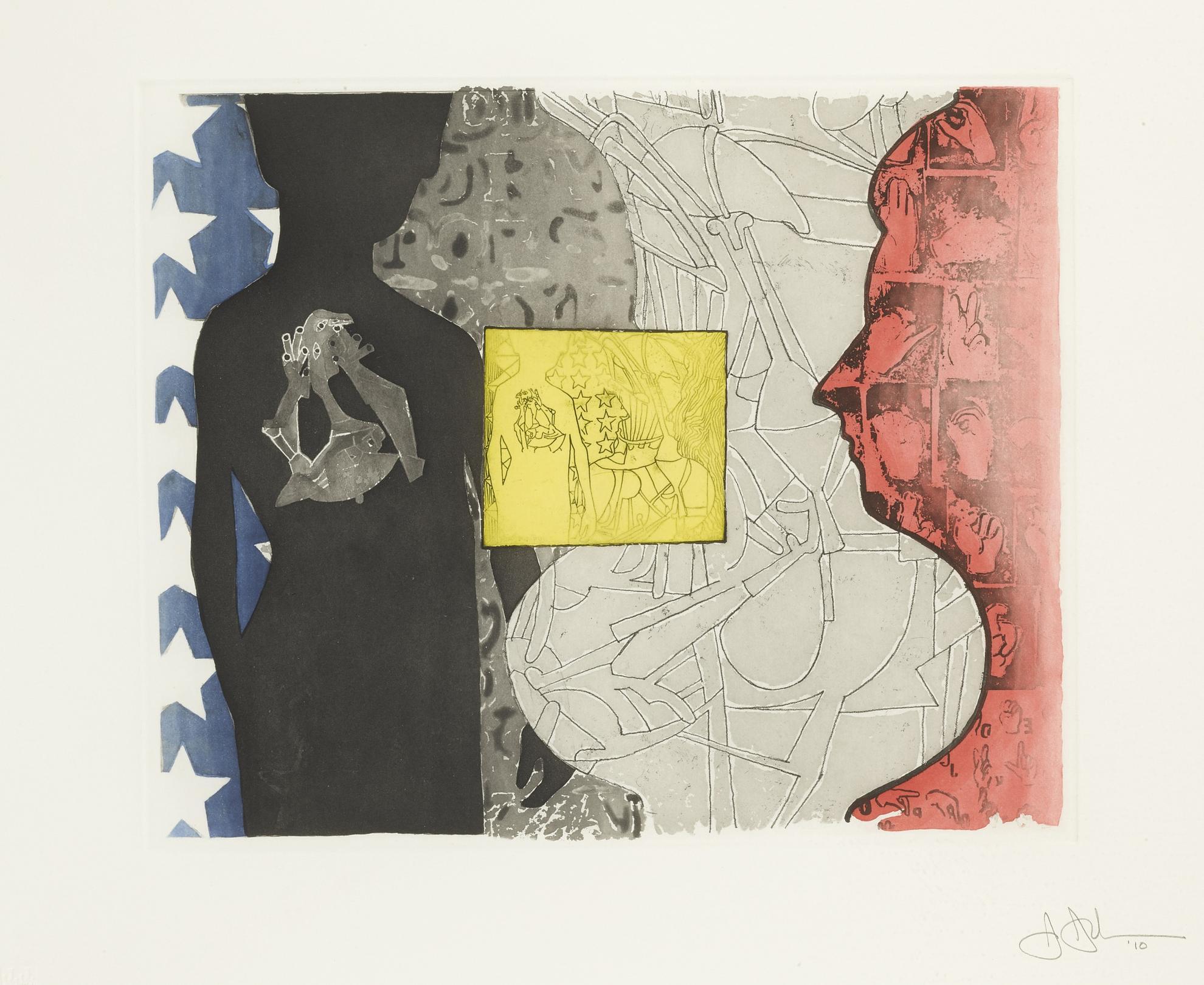 Jasper Johns-Untitled (For Moma)-2010