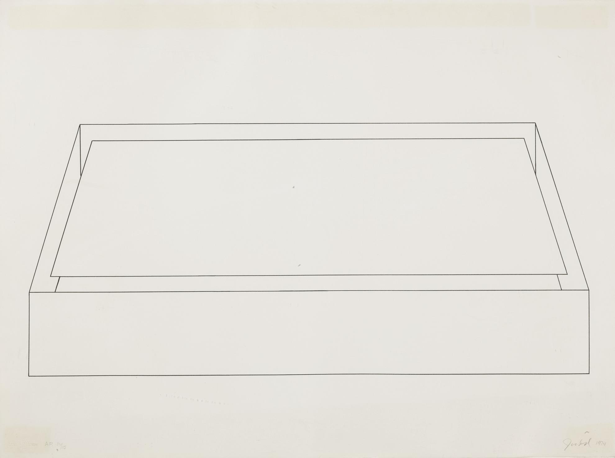 Donald Judd-Untitled (Schellmann 83)-1974