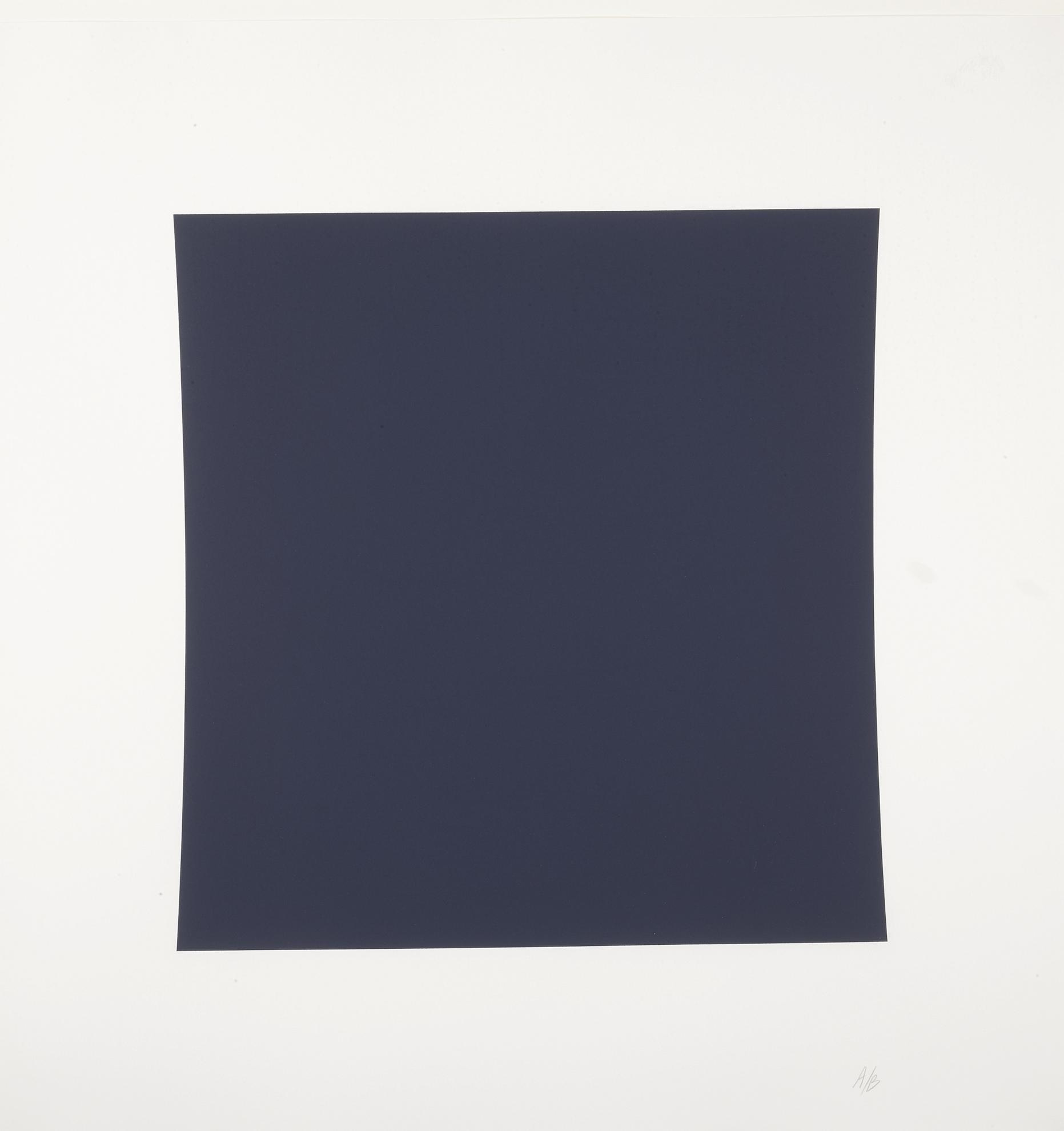 Ellsworth Kelly-Diptych: Dark Blue, Dark Green (A. 298)-2001