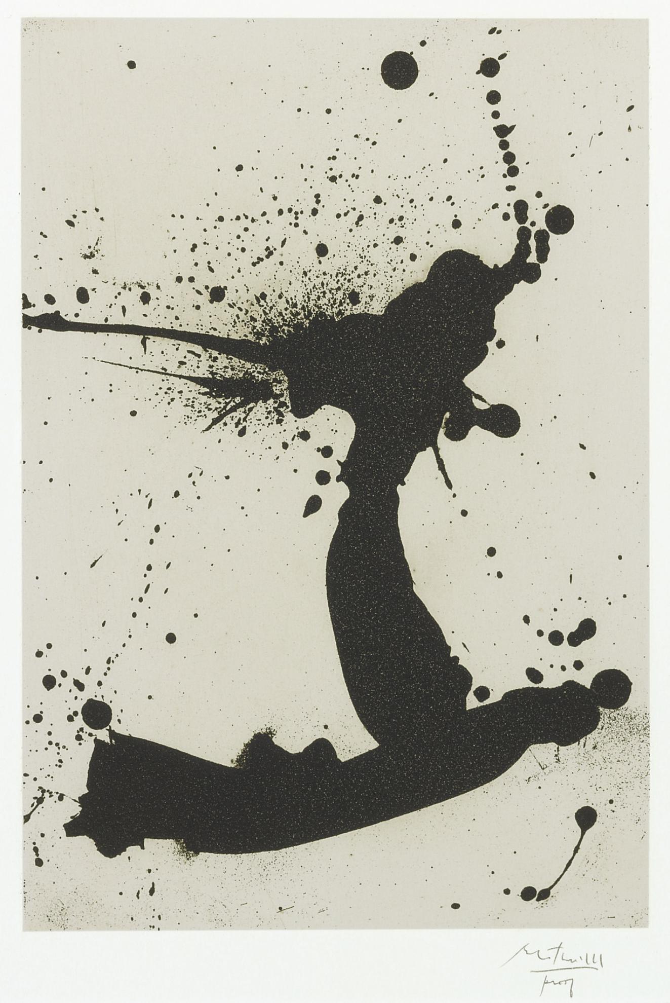 Robert Motherwell-Untitled (W.A.C. 52 & 53)-1966