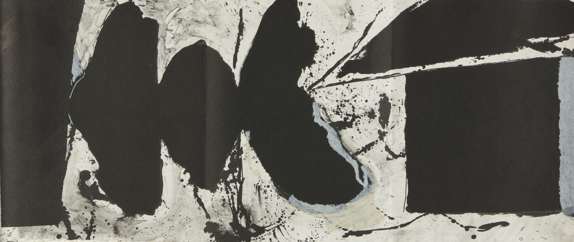 Robert Motherwell-El Negro (W.A.C. 308.1-.21)-1983