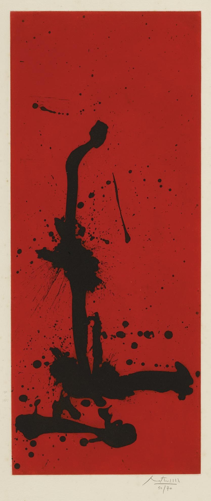 Robert Motherwell-Red Sea III (W.A.C. 316)-1983