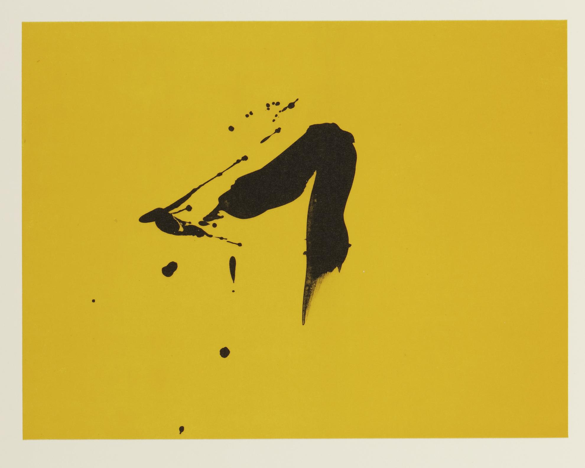 Robert Motherwell-Three Poems (W.A.C. 387.1-.27)-1988