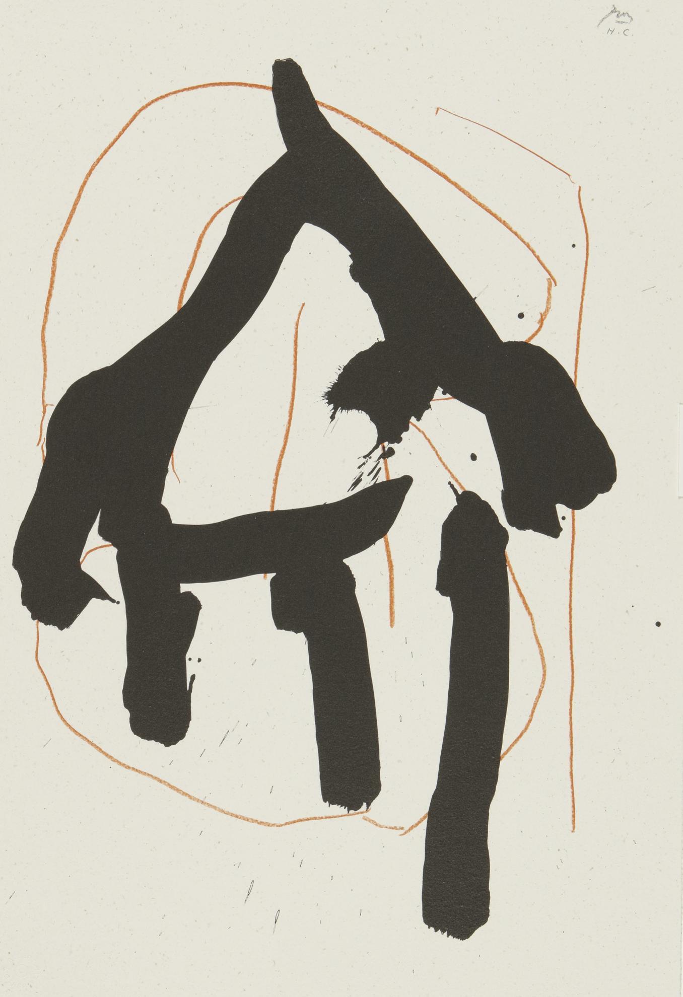 Robert Motherwell-Beau Geste Pour Lucrece (See W.A.C 480-485)-1989