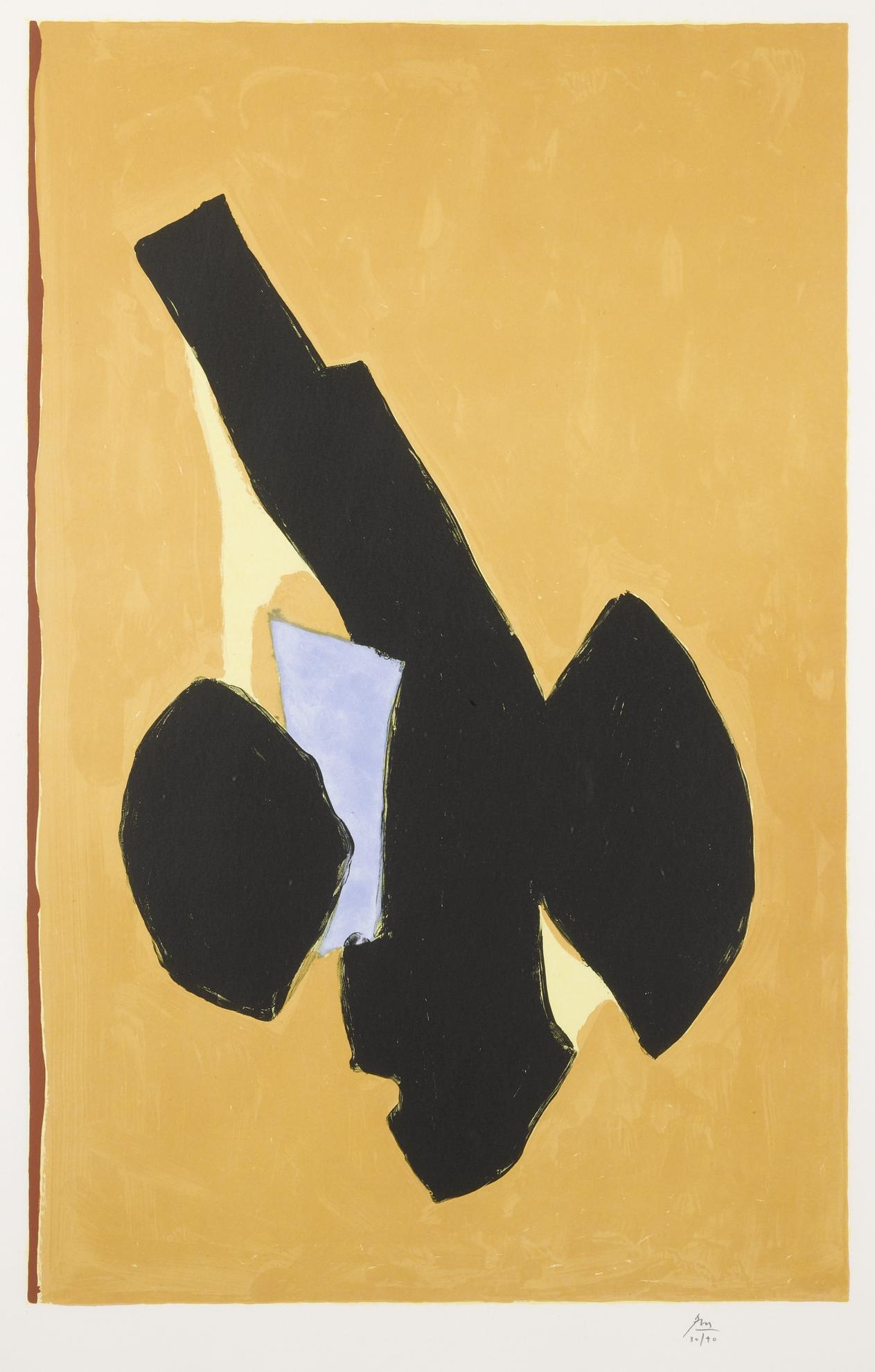 Robert Motherwell-Delos (W.A.C. 525)-1991