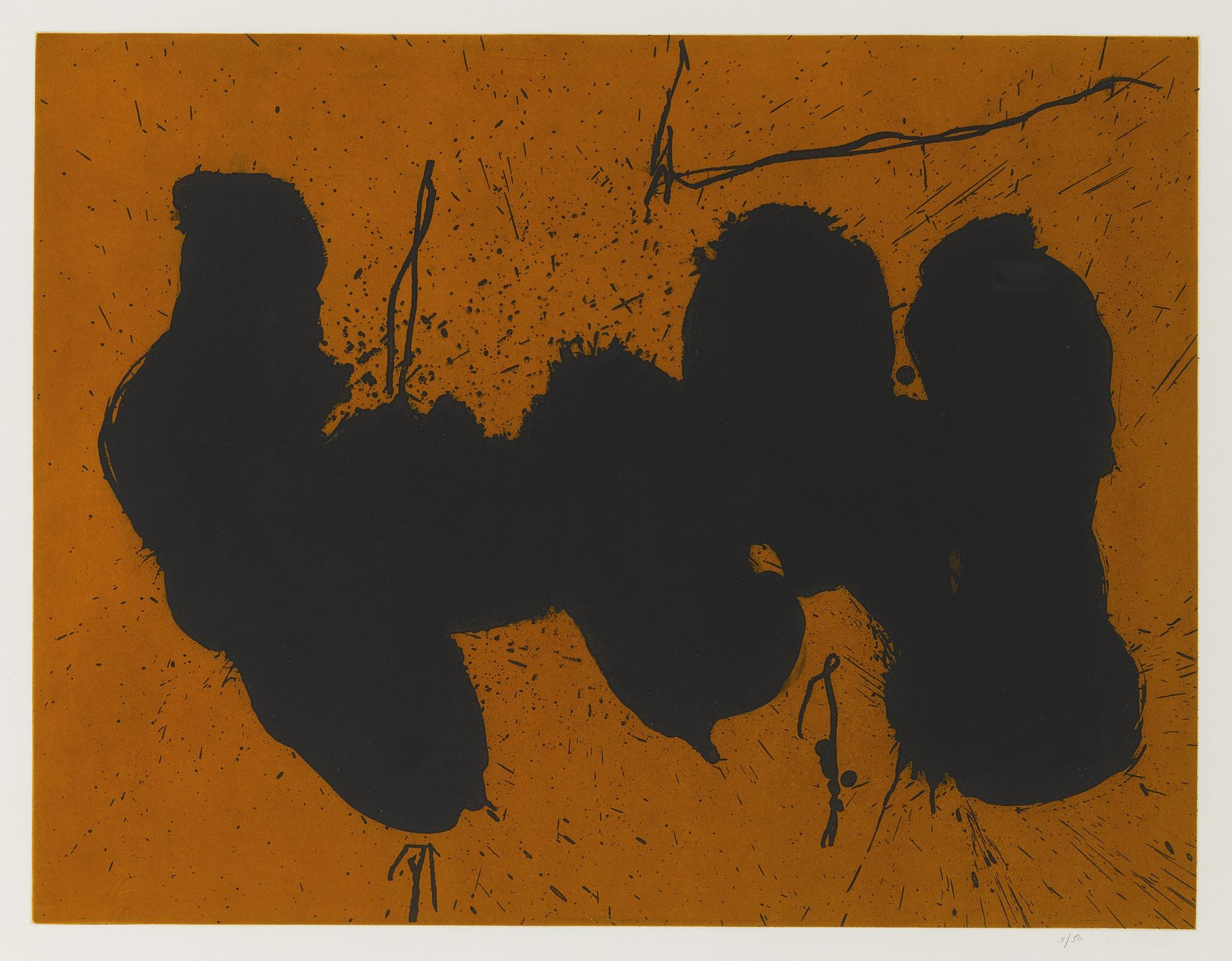 Robert Motherwell-Barcelona Elegy To The Spanish Republic (W.A.C. 533)-1991