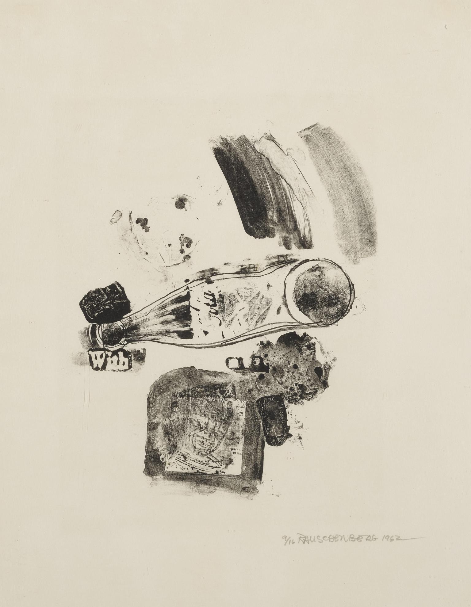 Robert Rauschenberg-Merger (Foster 5)-1962