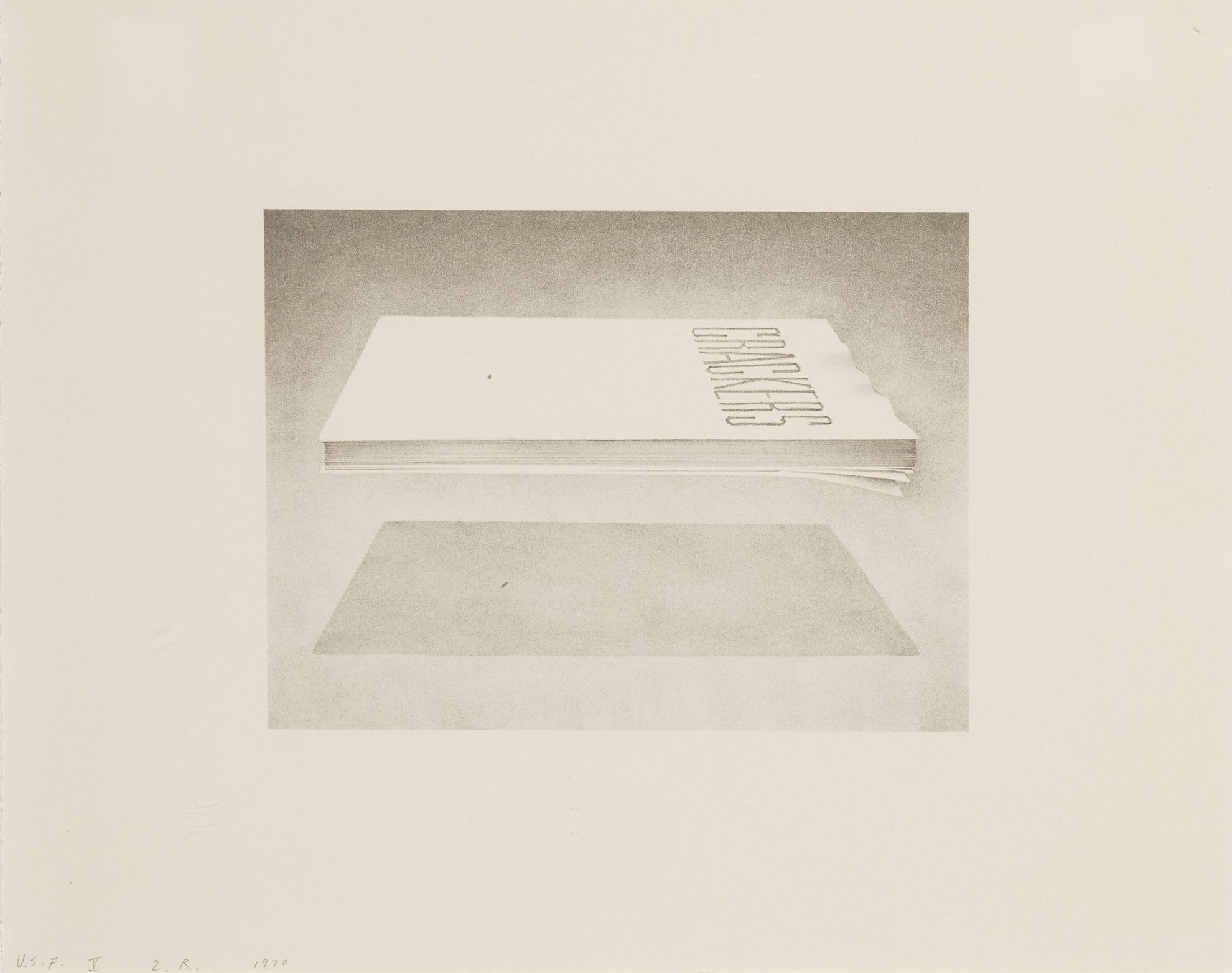 Ed Ruscha-Crackers (E. 50)-1970