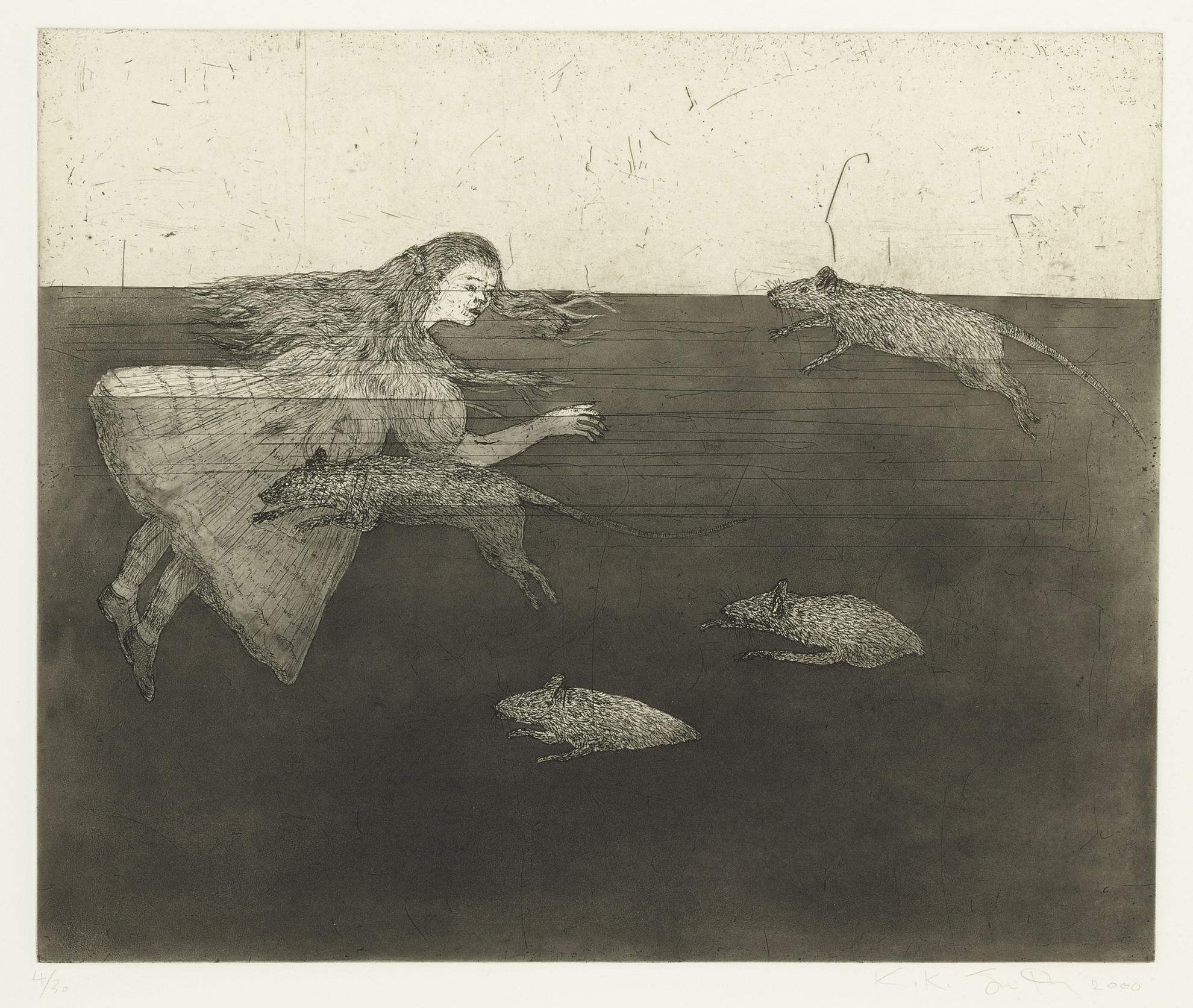 Kiki Smith-Pool Of Tears I-2000