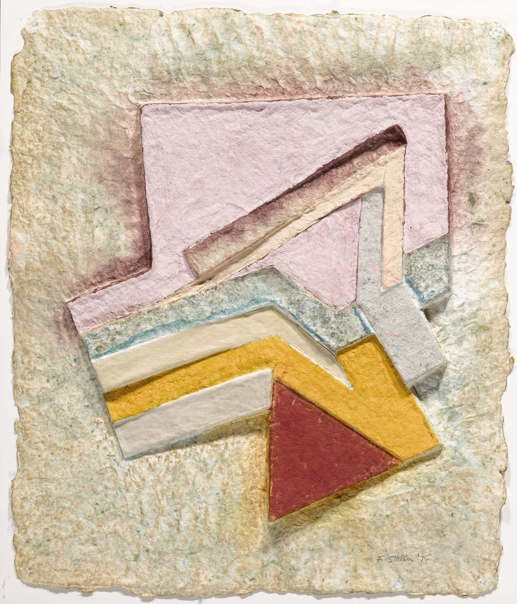 Frank Stella-Lunna Wola (V) (Axsom Ive; Tyler 546:Fs5)-1975