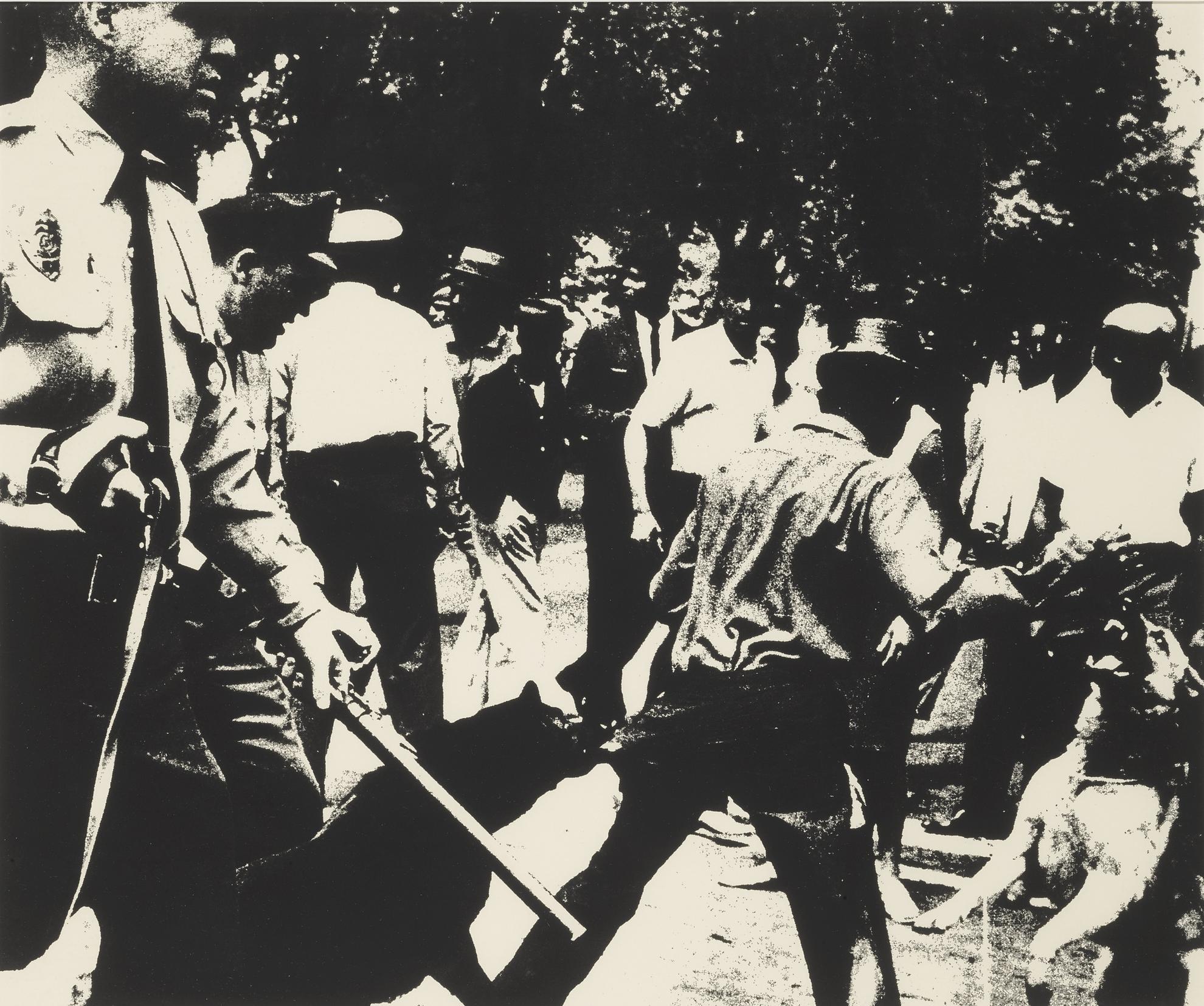Andy Warhol-Birmingham Race Riot (F. & S. II.3)-1964