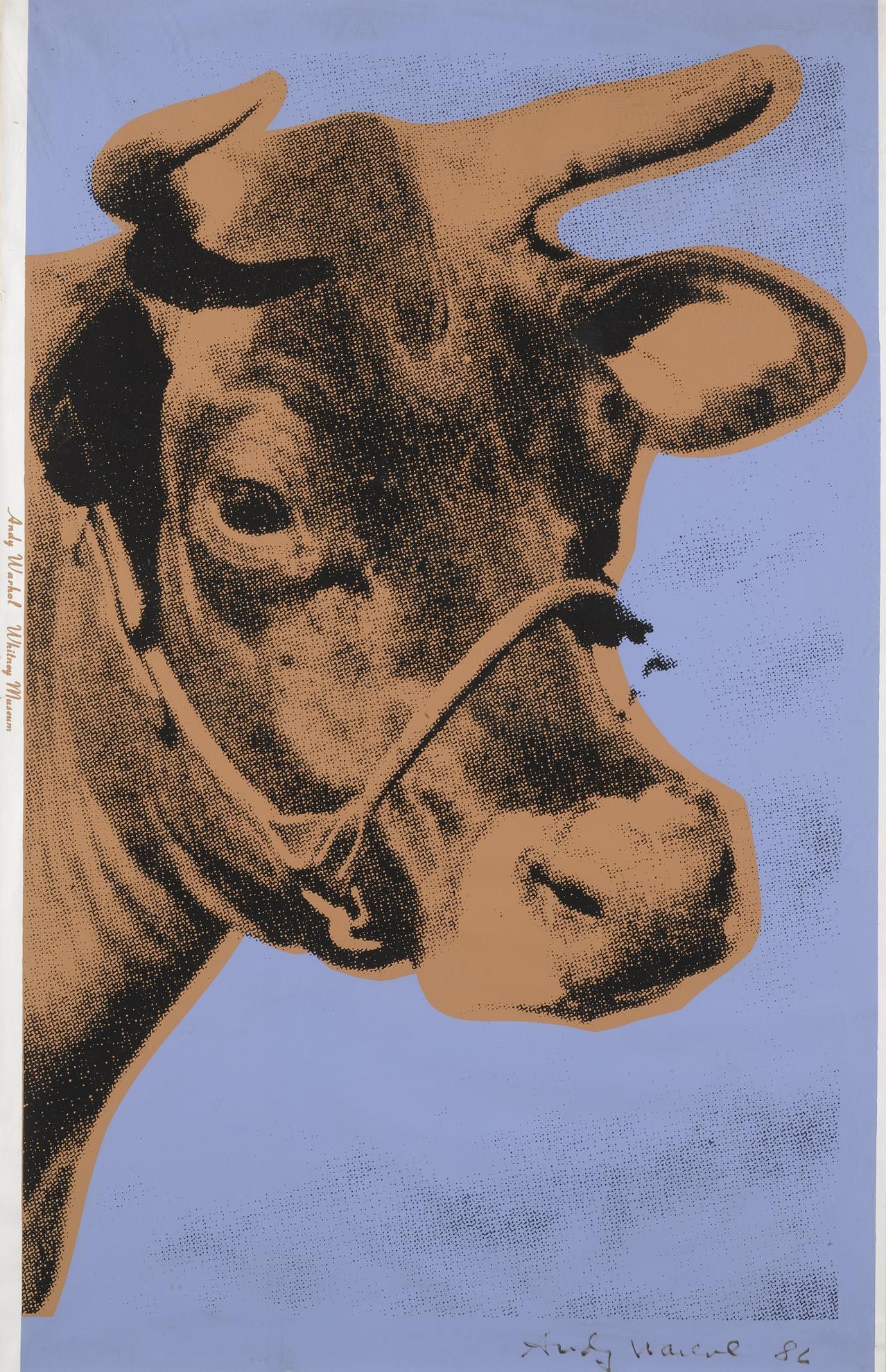 Andy Warhol-Cow (F. & S. Ii.11A)-1971