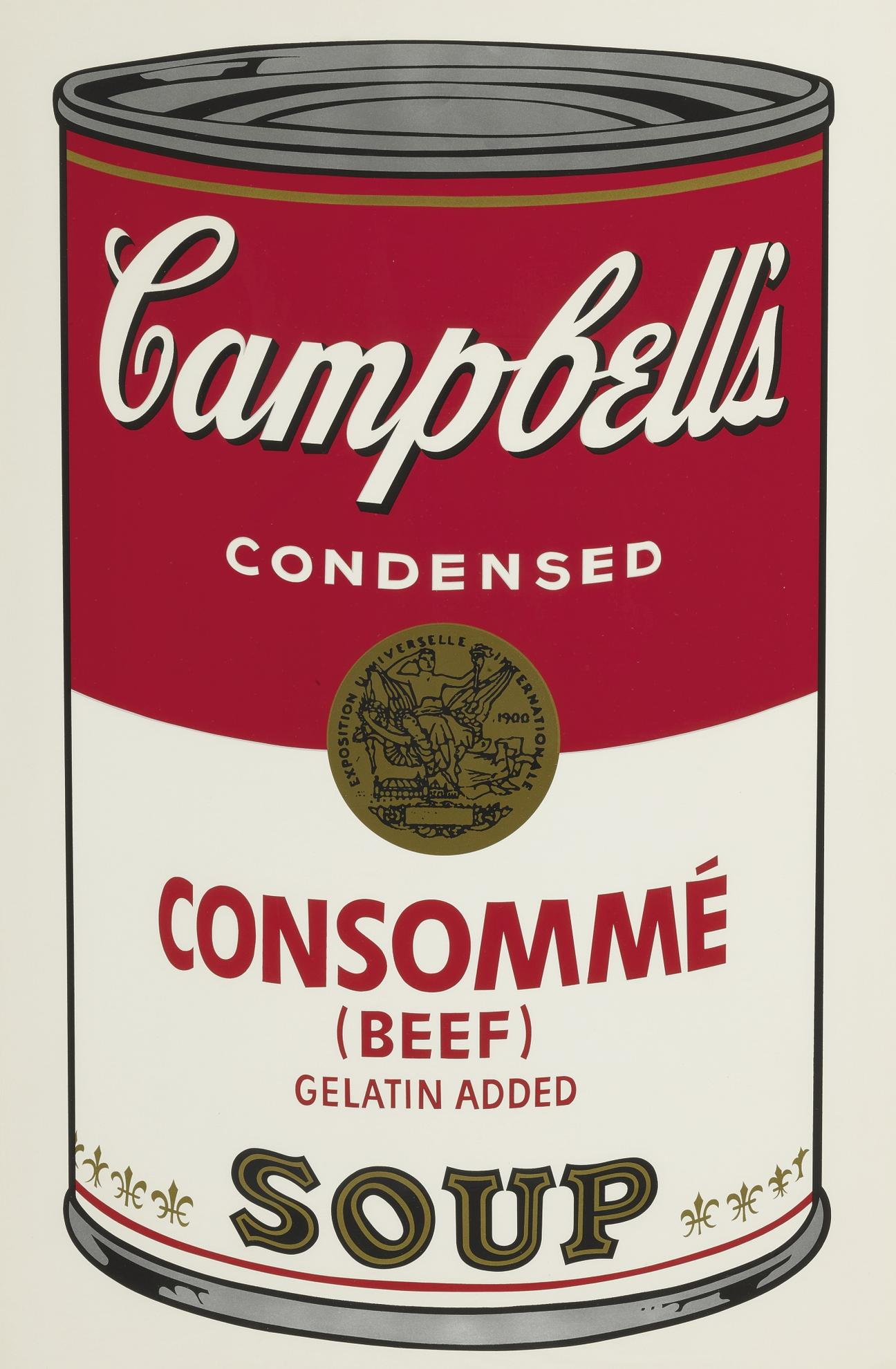 Andy Warhol-Consomme (Beef) (F. & S. II.52)-1968