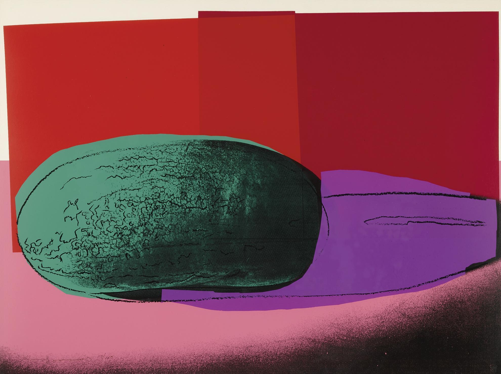 Andy Warhol-Watermelon (F. & S. II.199)-1979