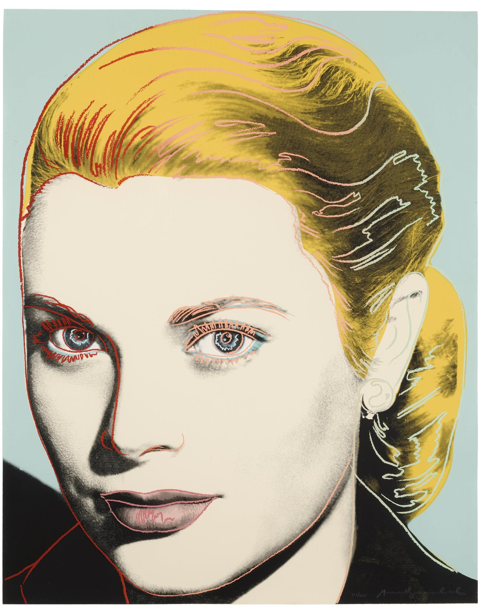 Andy Warhol-Grace Kelly (F. & S. II.305)-1984