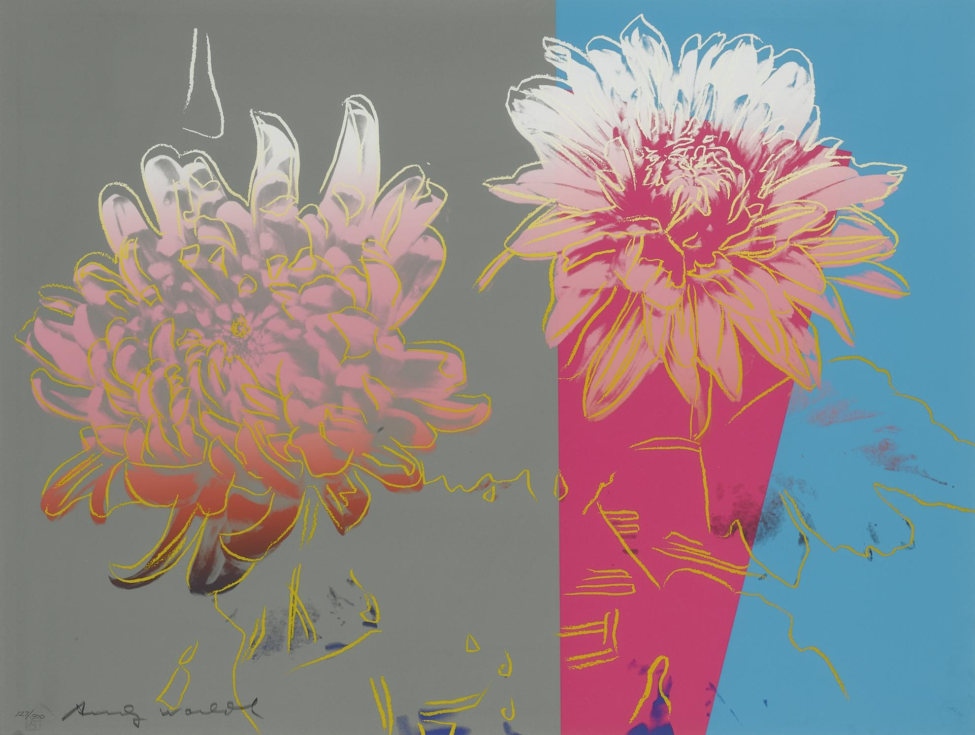 Andy Warhol-Kiku (F. & S. II.307-9)-1983