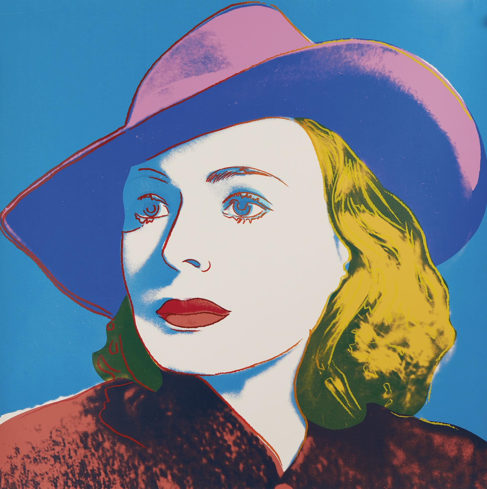 Andy Warhol-Ingrid Bergman: With Hat (F. & S. II.315)-1983