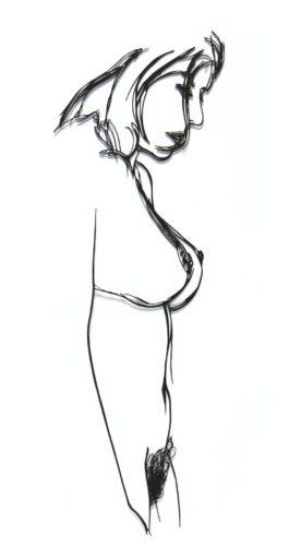 tom-wesselmann-steel-drawing-editionstanding-nude-1985-jpg
