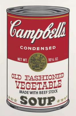 Andy Warhol-Old Fashioned Vegetable, From Campbells Soup II-1969
