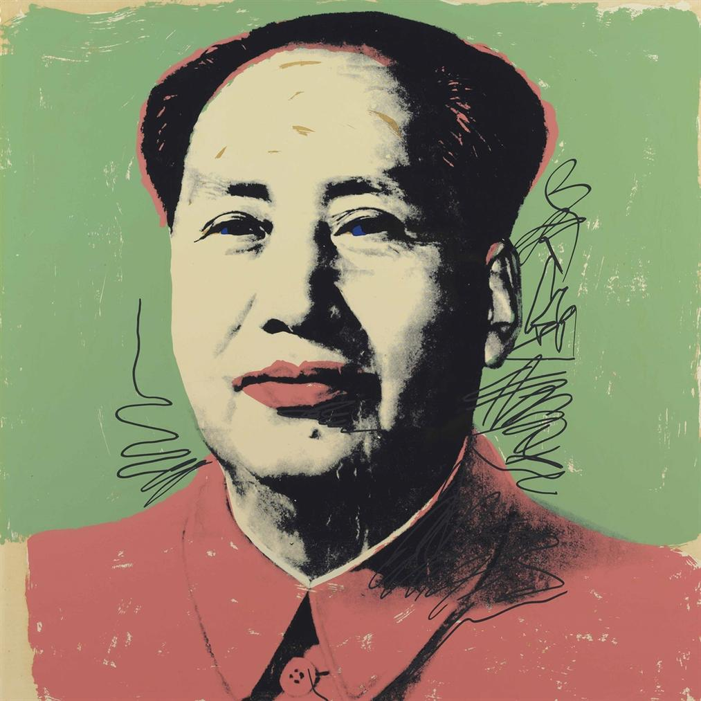Andy Warhol-Mao: One Plate-1972