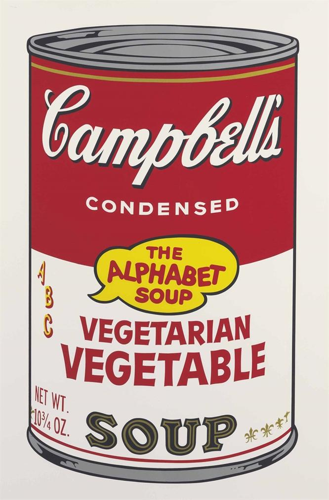 Andy Warhol-Vegetarian Vegetable, From Campbells Soup II-1969