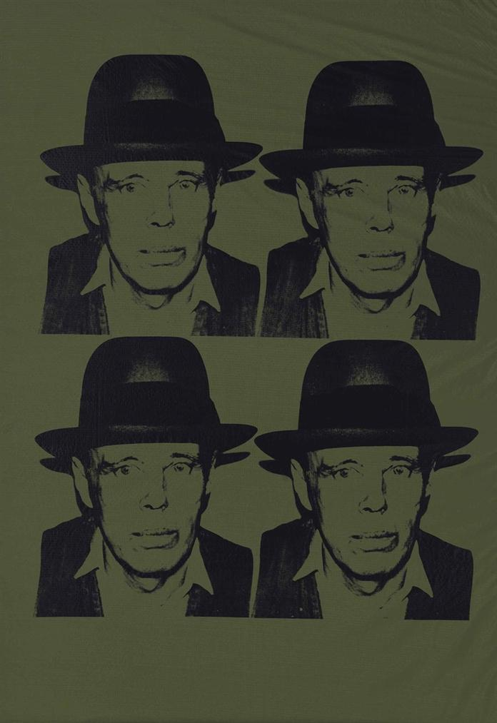 Andy Warhol-Joseph Beuys-1980