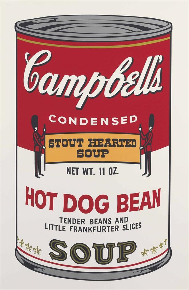 Andy Warhol-Hot Dog Bean, From Campbells Soup II-1969