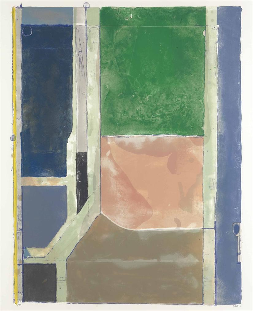 Richard Diebenkorn-Twelve-1984