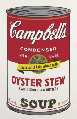 Andy Warhol-Oyster Stew, From Campbells Soup II-1969