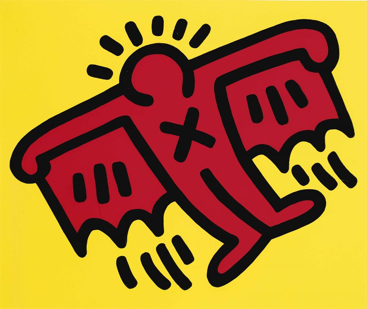 Keith Haring-Icons: One Plate-1990