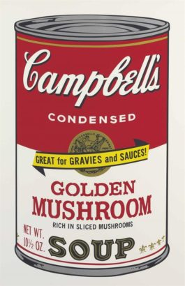 Andy Warhol-Golden Mushroom, From Campbells Soup II-1969