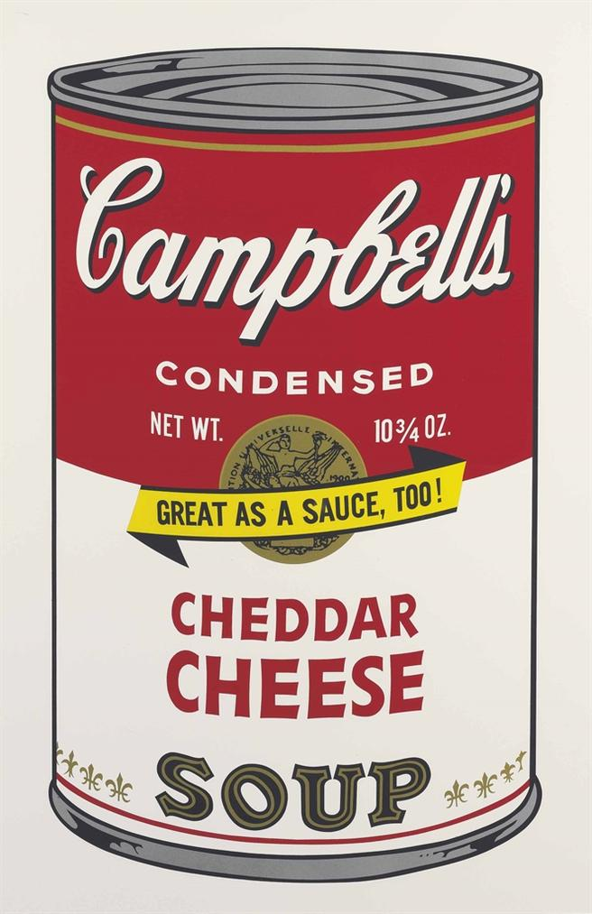 Andy Warhol-Cheddar Cheese, From Campbells Soup II-1969